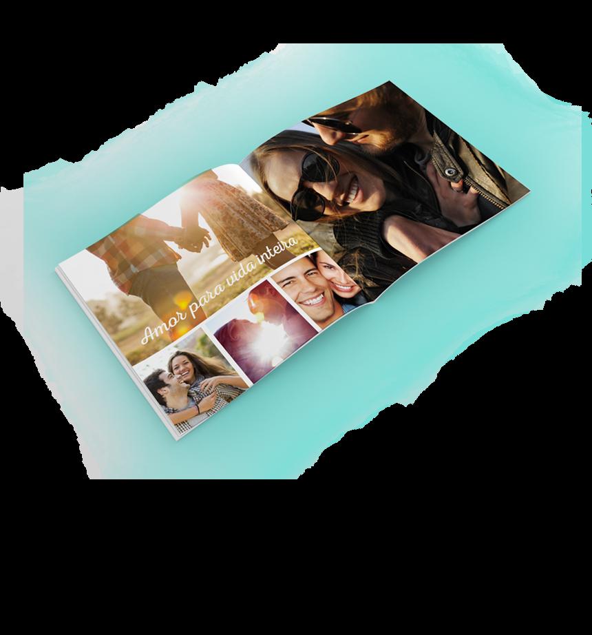 Transforme suas fotos digitais em um lindo álbum